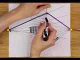 Top 5-Minute Crafts #23 (Как нарисовать перспективу без правителя)