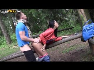 Mofos | My Pick Up Girls | WTFPass | Пикапер трахает русскую девочку в кустах в лесу | Секс за деньги |  Порно В HD | Пикап Anal