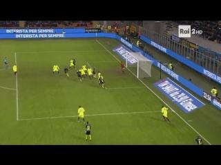Jeison Murillo Amazing Bicycle Kick Goal Inter 1 - 0 Bologna (Coppa Italia)
