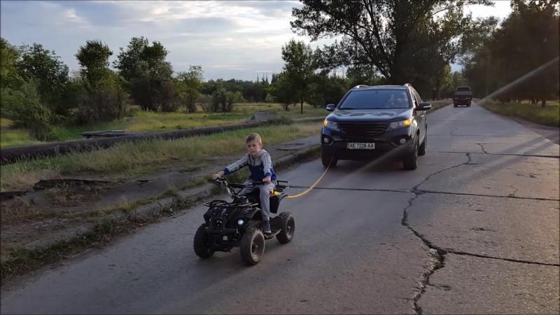 Электроквадроцикл ATV E002 800Вт