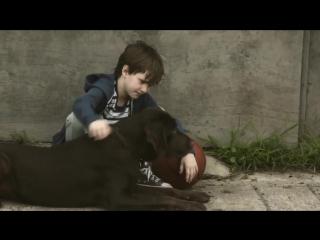 Мальчик и его пёс по кличке Дак