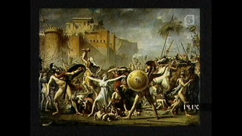 05_Palettes: Жак Луи Давид. Революция в античном стиле.