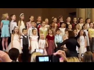 хор Солнышко - песня Катюша,весна 2016