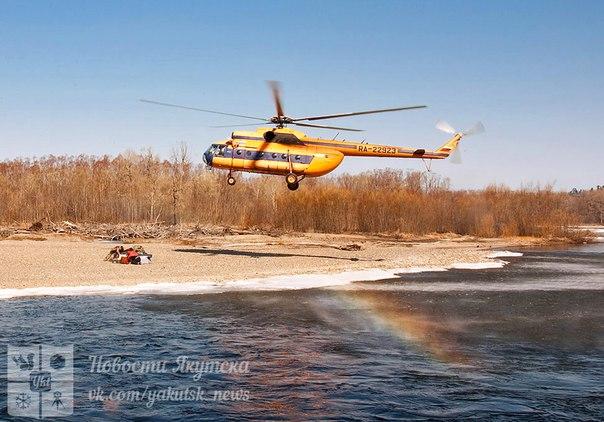В Якутии перевернулись две лодки с геологами