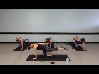 Suzanne Bowen - Advanced Barre Cardio Fire (39 minute)   Сюзанна Боуэн - Балетная кардио-тренировка для продвинутых