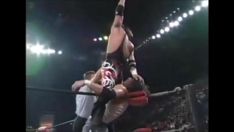 Billy Kidman vs. Juventud Guerrera 16.11.98 WCW Monday Nitro