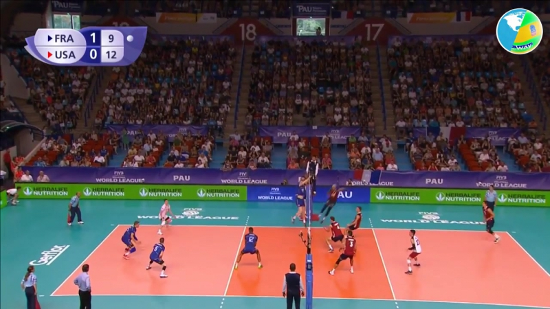 TOP 10 Best Volleyball Actions - Ben Patch - USA Volleyball