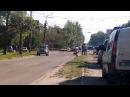 Взорван джип в Луганске. Кв Ватутина возле маг. Итака