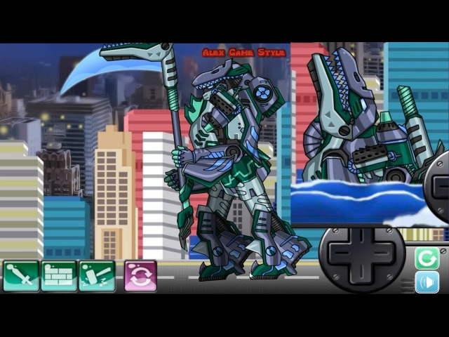 Dino Robot Mosasaurus Super robot Assembly and Dinosaur robot Assembly Dino Robot Game