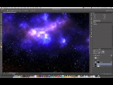 Creating a starfield in Photoshop