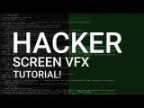 Hacker Screen LOOP - After Effects Tutorial!