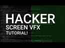 Hacker Screen LOOP After Effects Tutorial │ Create Professional Hacker Screen VFX