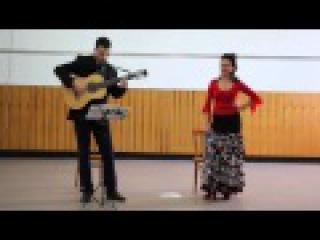 Цыганская песня под семиструнную гитару