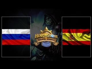 [HS VODs] Russia vs Spain   Hearthstone Global Games 2017 (11.04.2017)