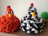 Galinha Rendada Chicken croch