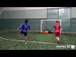 FOOTBIC.RU. Видеообзор 20.02.2017 (Метро Марьина Роща). Любительский футбол