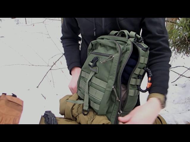 Обзор тактического рюкзака Kiwidition Karearea
