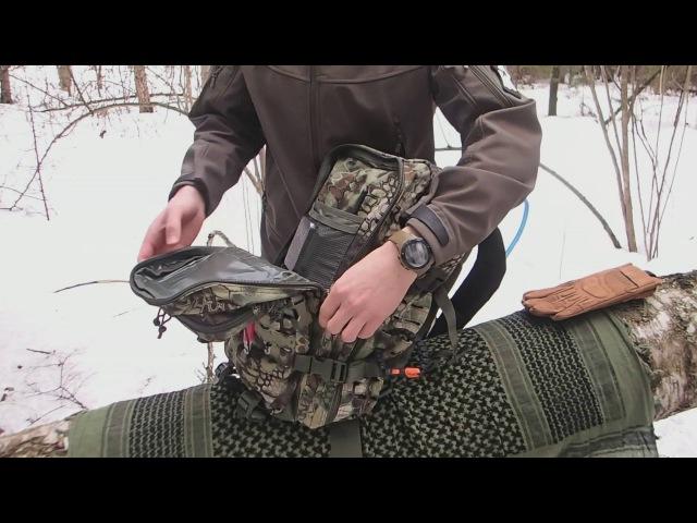 Обзор тактического рюкзака Mil Tec US Assault pack Laser Cut Large