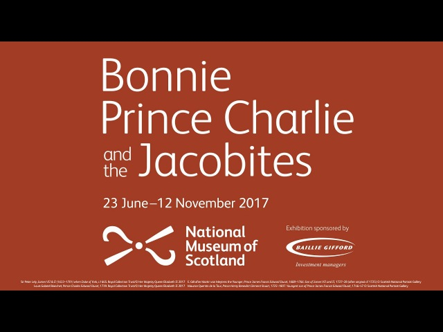 Промоушн выставки «Красавчик Принц Чарли и Якобиты», 2017 год.