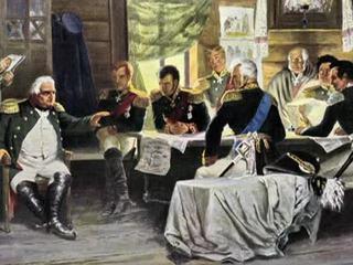 Война и мир Александра Первого. Наполеон против России. Изгнание.