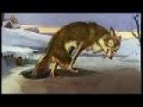 █ Сказка. Дедушка, хитрая Лиса и Волк. (озвученный диафильм сказка и мультфильм).