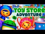 Команда Умизуми супермашины приключение в магазине игрушек