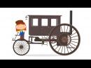 Мультфильм про машинки - Доктор Машинкова 🚗 - Машина времени - развивающий мульт...
