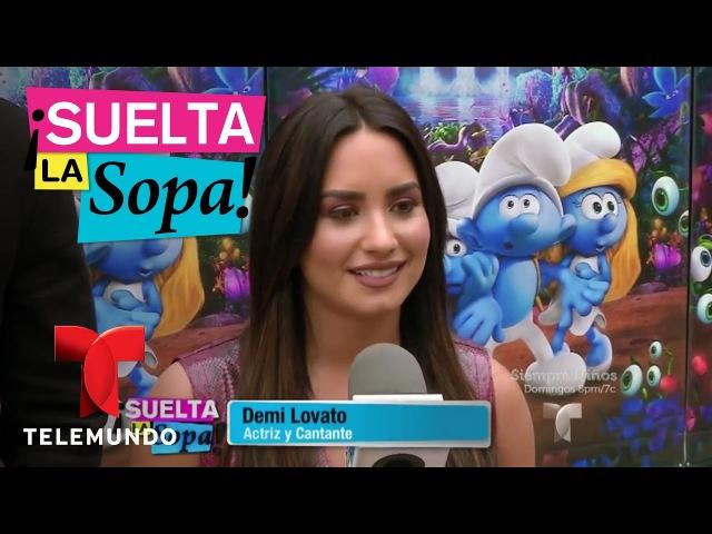 Suelta La Sopa   Joe Manganiello y Demi Lovato protagonizan nueva película de Los Pitufos   Entrete