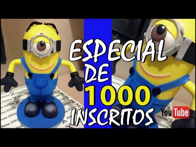 1_Como Fazer Boneco Do Minion Em E.V.A 3D1000 INSCRITOS - PARTE 1