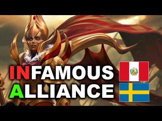 ALLIANCE vs INFAMOUS - 3rd Place Match - WESG Dota 2