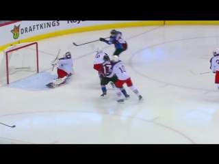 Sergei Bobrovsky robs Rantanen with glove save 12-1-16