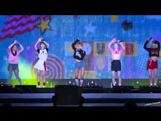[FANCAM] 160903 Red Velvet Dumb Dumb @ Sky Festival 2016