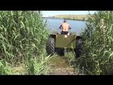 Самодельный плавающий квадроцикл из Урала