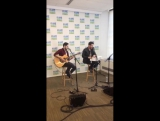 Computer Games (Chuck and Darren Criss) at the Elvis Duran Show via their Snapchat (March 9th, 2017)