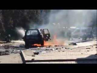 Последствия взрыва в Мариуполе