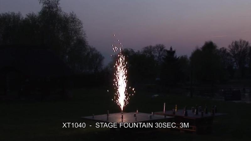 Fajerwerki XT1040 Stage Fountain 30sec 3m Triplex