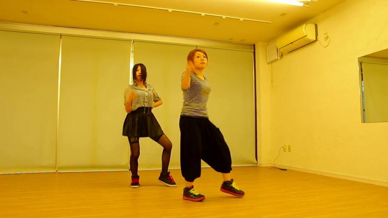 【なぎりっく】被害妄想携帯女子(笑)踊ってみた【薙×RIC】 sm24711015