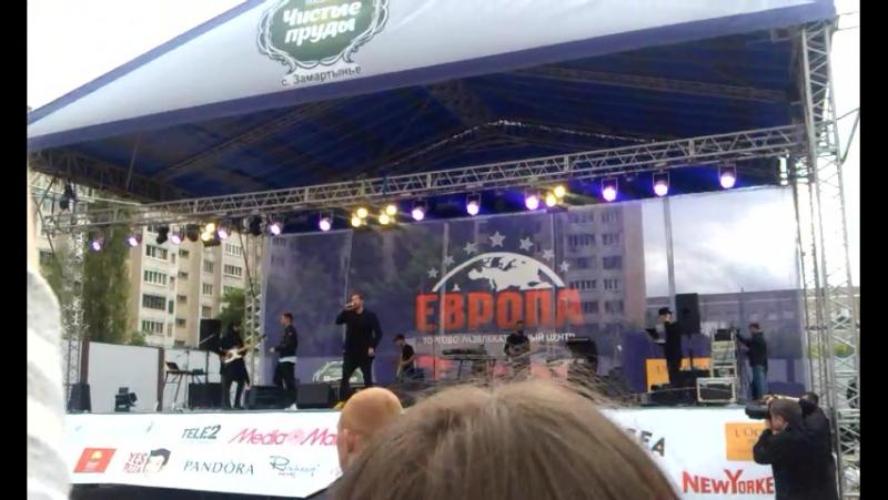 Группа Градусы. Празднование Дня Рождения ТРЦ Европа.