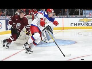 Видео МЧМ-2017 Латвия-Россия (1-9)