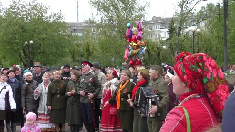 9 мая 2017 год. г.Калуга. ул.Площадь Победы.