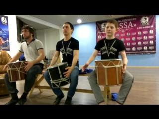 Урок игры на кавказском барабане. Школа лезгинки ASSA Оренбург.