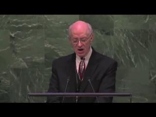 Ли Стоунгинг, Свидетельство о Воскрешении, Генеральная Ассамблея ООН, Нью Йорк
