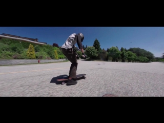 AHMYO Wheels x Flatspot Longboards- Eduardo Cordero and the AHMYO Mukti
