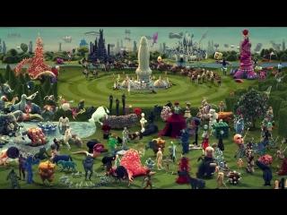 Типа рай в представлении Иеронима Босха... :) Смотреть на полном экране... Чудные видения...