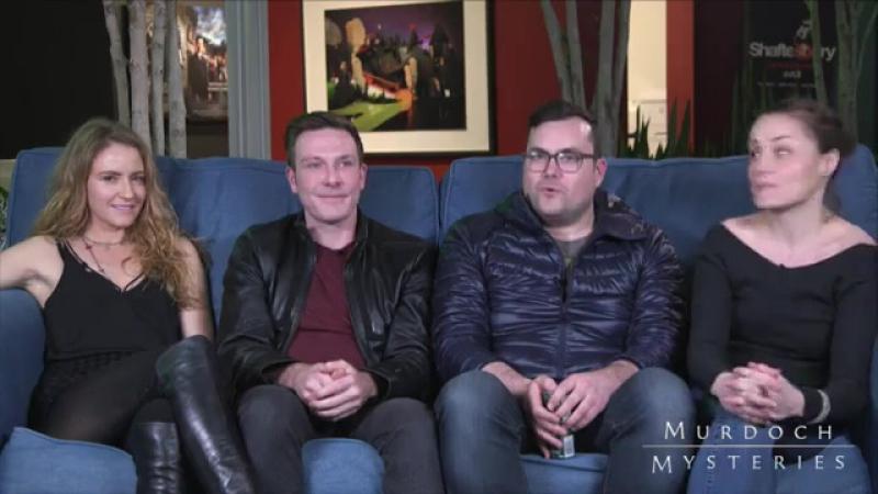 Cast Murdoch Mysteries в прямом эфире