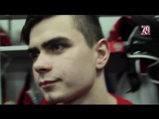 Юные хоккеисты из Казахстана в гостях у студенческой сборной России