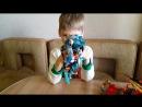 Кирилл о своих Биониклах) Любителям роботов посвящается 😄