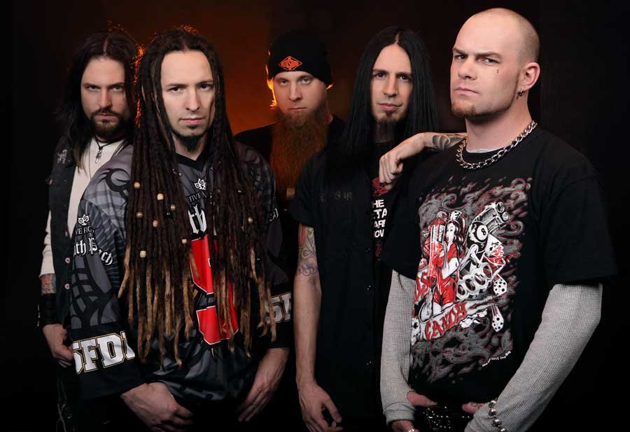 Jekyll & Hyde T-shirt Five Finger Death Punch T-shirts