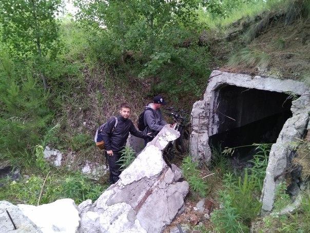 Заброшенный подземный двухэтажный бункер