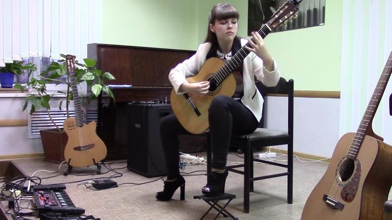 Отчётный концерт10.03.2017 Кулабухова Света - Д.Расселл